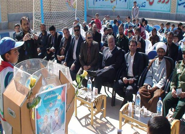 جشن نيكوكاري با حضور فرماندار شهرستان درميان