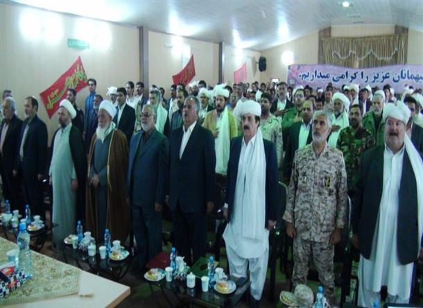 همايش عيدانه مرزنشينان و مرزداران  در شهرستان درميان برگزار شد